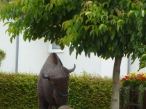 Wisent-Skulptur in Bad Berleburg