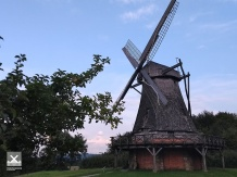Smock mill in the LWL open air museum Detmold
